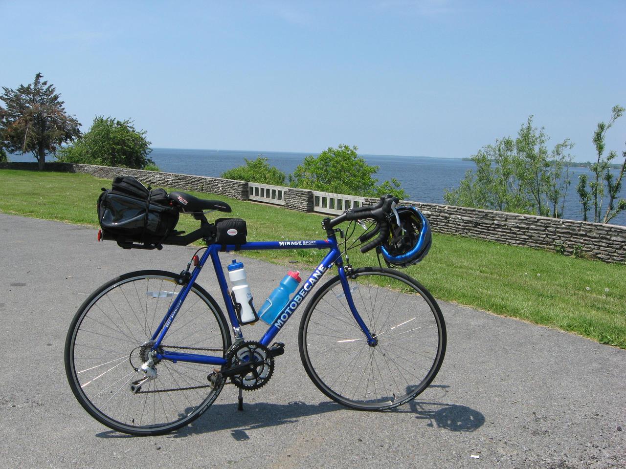 Motobecane Bike At Sacketts Harbor (1) by Lectrichead