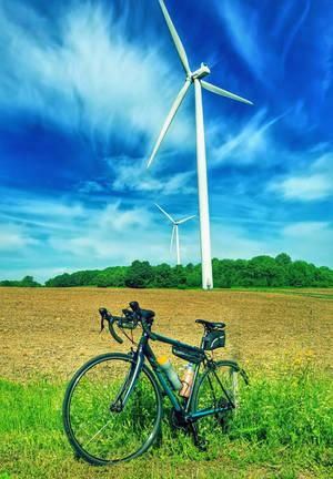 6 24 19 Ride From Lowville Wind Turbine