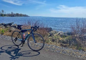 First 50 mile bike ride of the season - May 6.