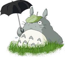 Totoro by Neffelle