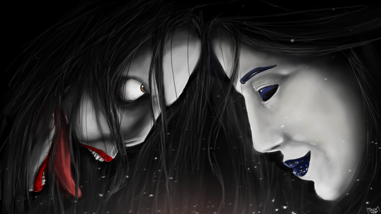 Jeff The KIller vs Jane the Killer by BladeRazors on ...