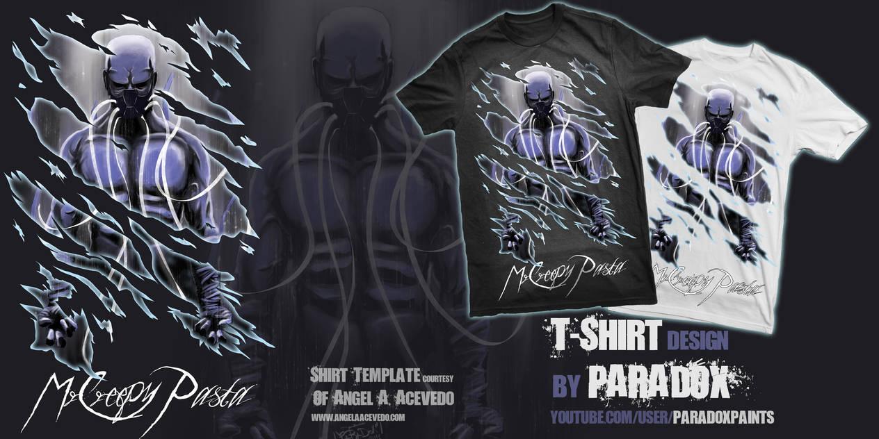 MrCreepyPasta T-Shirt Contest entry ! *VOTE* by BladeRazors