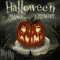 Myuuji - Halloween PIANO TRIBUTE! Album Cover by BladeRazors