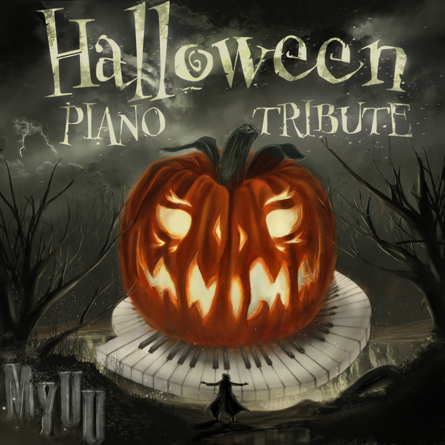 myuuji - halloween piano tribute! album coverbladerazors on