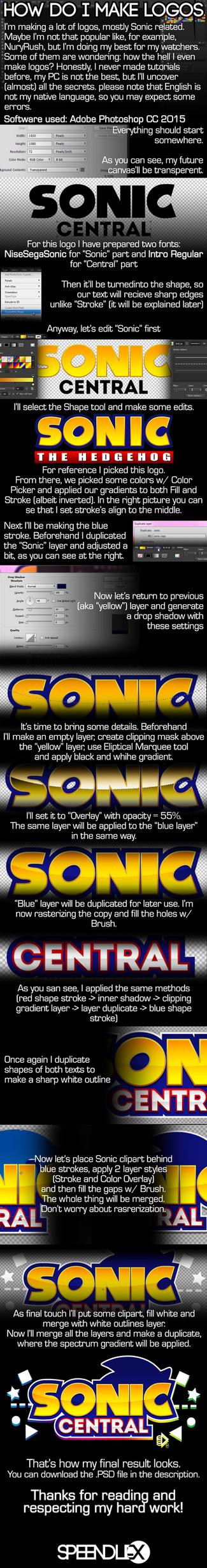 Sonic Logo Tutorial by SpeendlexMK2