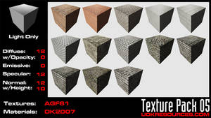 UDK Texture Pack 05