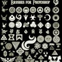Brushes: Zelda by achodesign