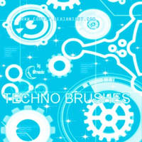 Brushes: Techno by achodesign