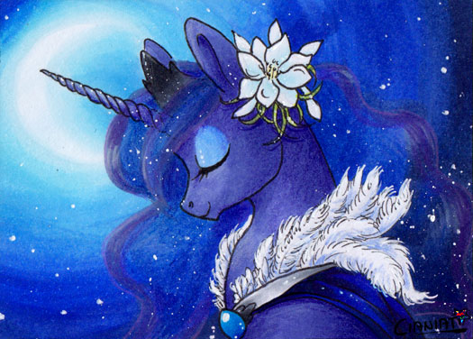 Princess of the night by Cianiati