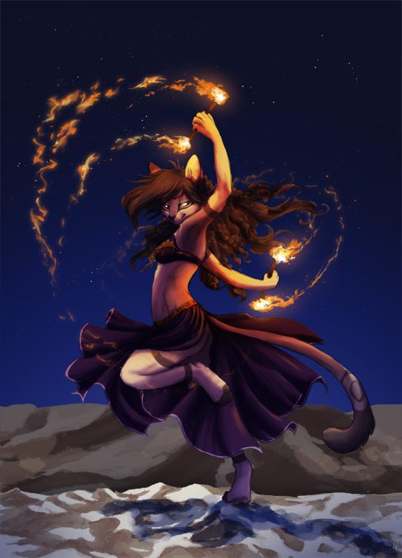 Spiel mit dem Feuer by Cianiati