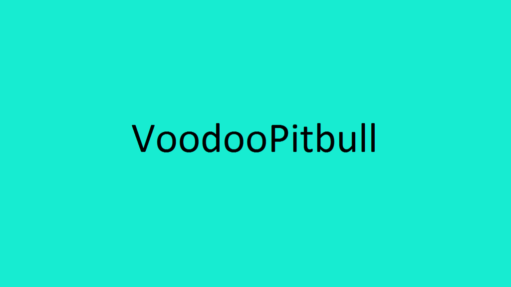 A year long ad for Voodoopitbull by Mike-the-dabbler
