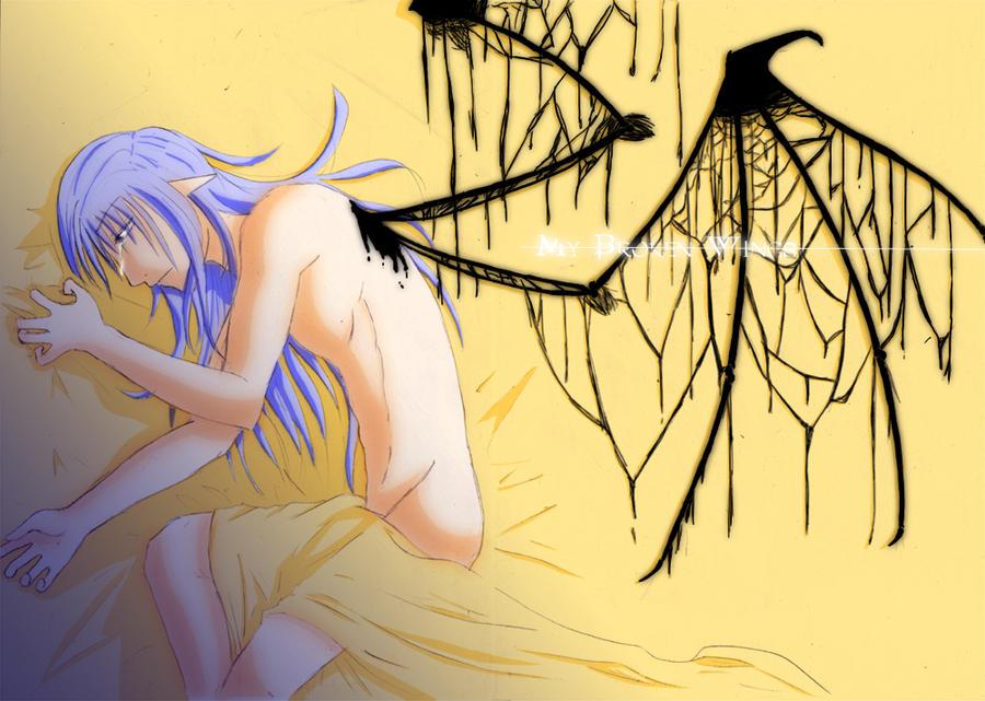 -- My Broken Wings -- by AngeruFee