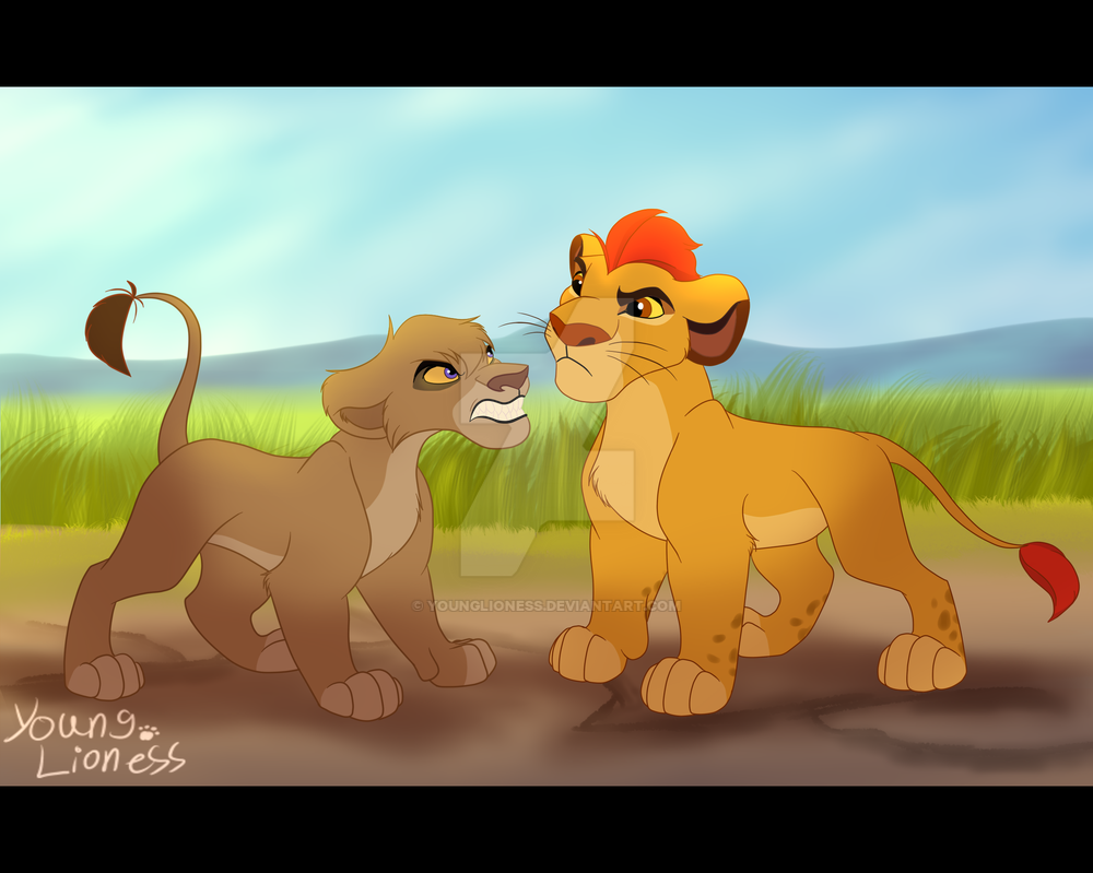 Vitani, ¿posible pareja de Kion? [Debate] Who_are_you__outlander__by_younglioness-d9jqd3x