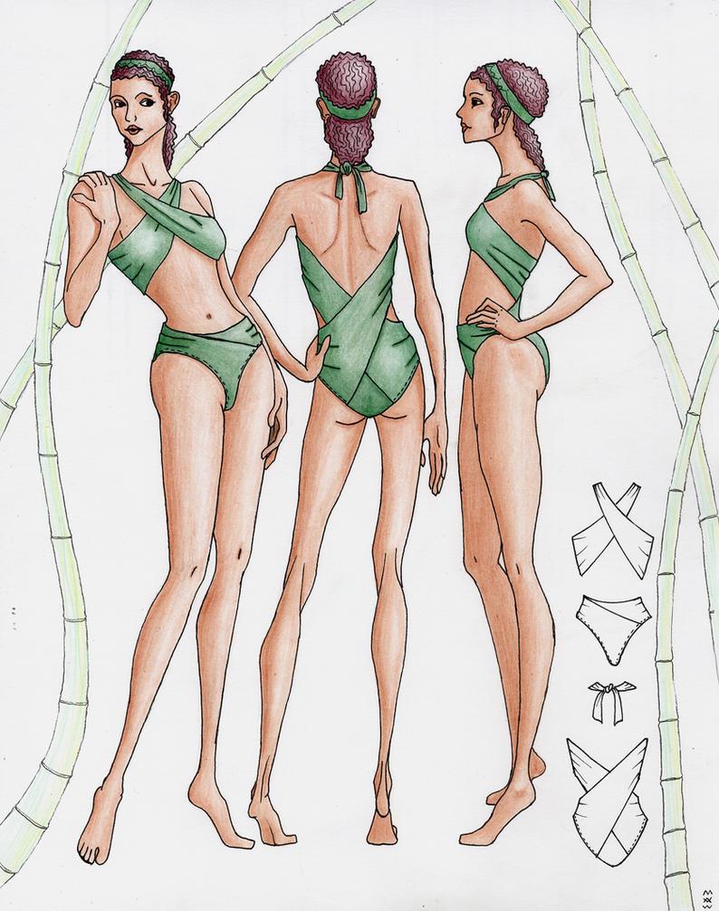 Sketchbook Fashion Design Free And Easy Netherlands