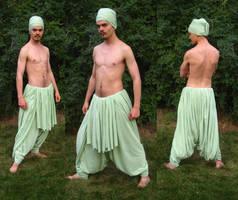 5 Yard wrap pants by Marcusstratus