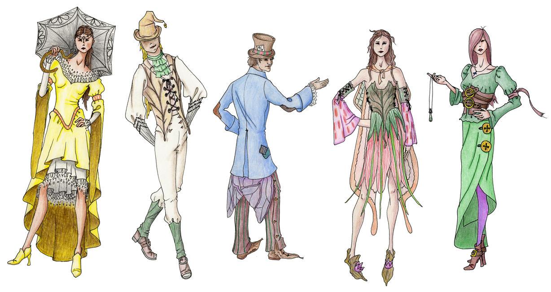 Designing Fictional Fashion