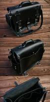 Black Shoulder Bag by Marcusstratus