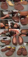 shoe progress 2 by Marcusstratus