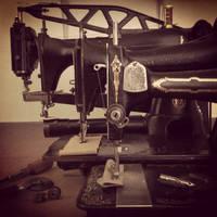 A few sewing machines