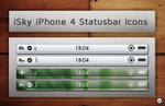 iSky iPhone4 Statusbar Icons