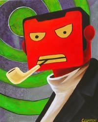 Robot Portrait by ChristianCompton