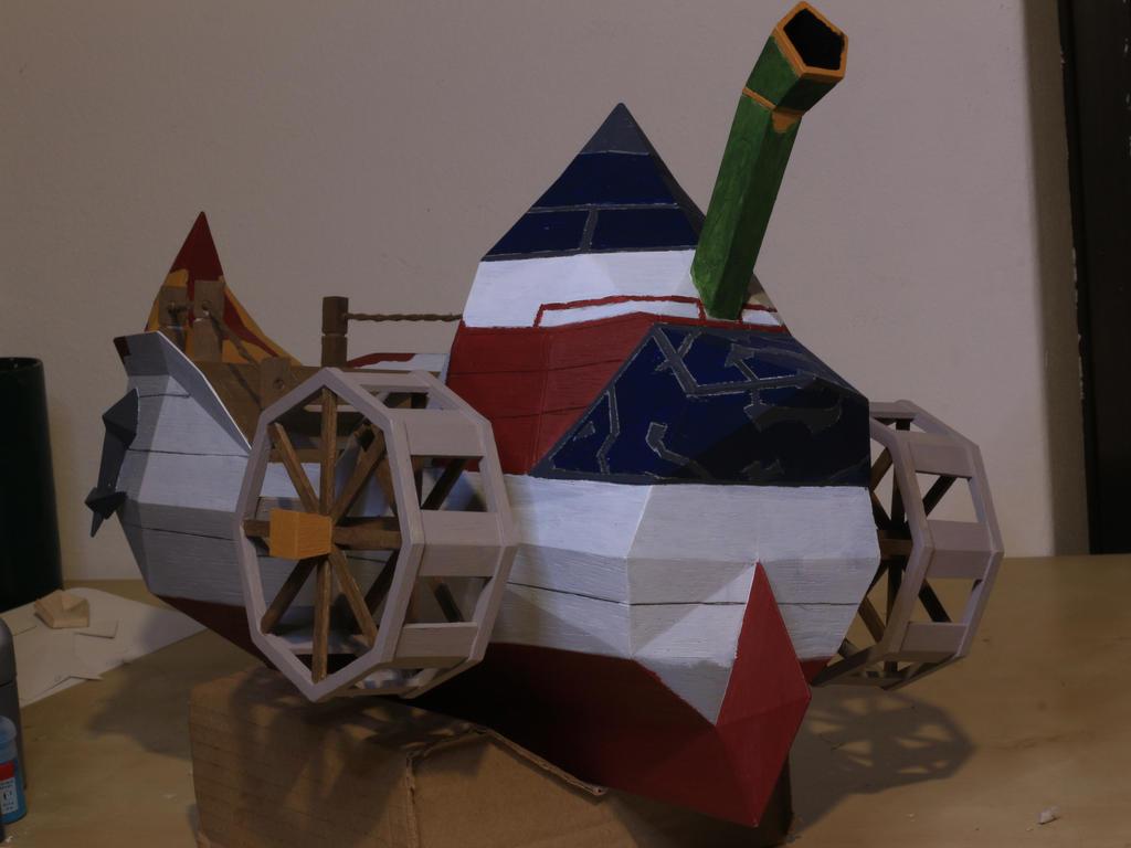 S.S. Linebeck Phantom Hourglass by manolimarkakis