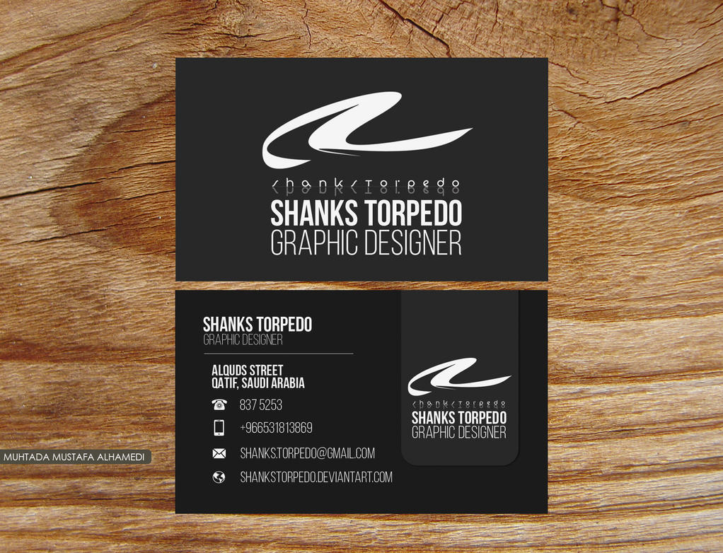 Business Card - Shanks Torpedo by ShanksTorpedo