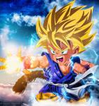 Kid Goku SSJ