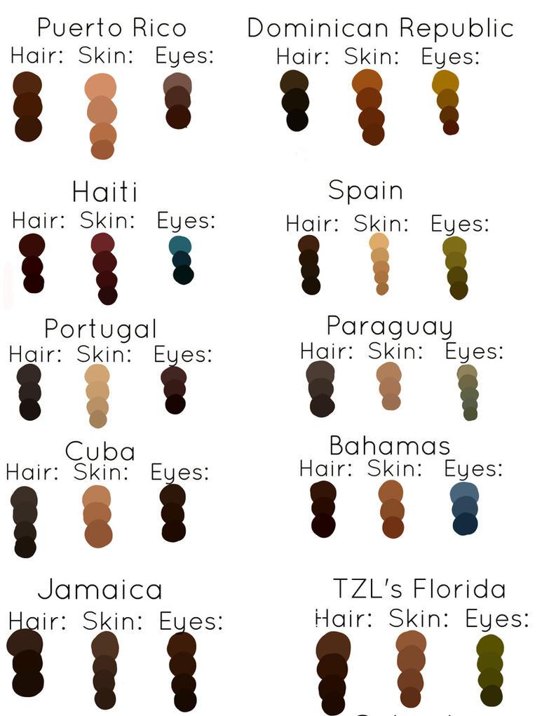 Character Design Colour Palette : Character color palette by donabii on deviantart