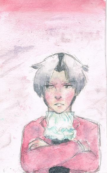 Edgeworth or Accidental Levi? You'll never know. by Lavi-Kaji