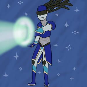 Flame's Labradorite - Energy Blast