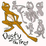 Dusty the Frog by DumpsterFire911