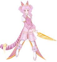 sweet girl - kitty. ~ by Uemukudia
