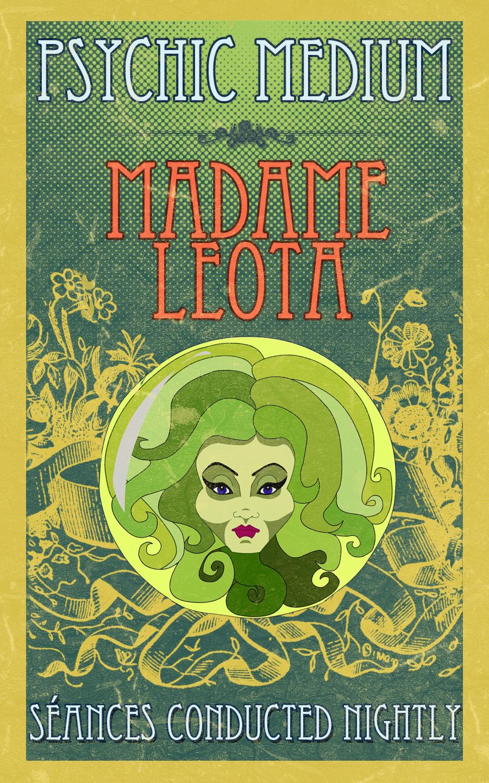Psychic Medium - Madame Leota by broopimus