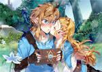 My hero - Zelda and link (Botw)
