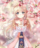Zelda (sunset Of Petals V.2)