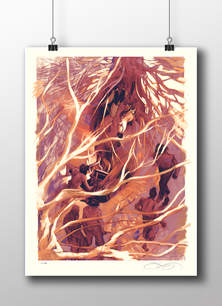 LE Print from Treasure Island by SterlingHundley