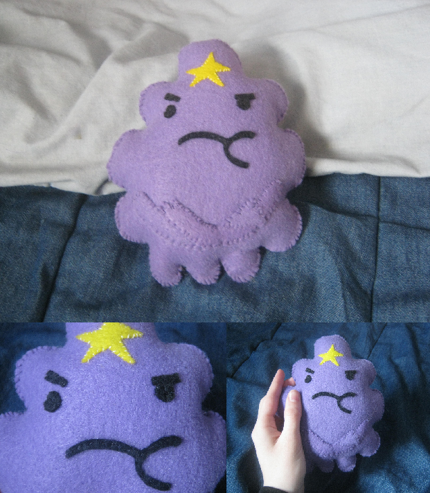 Adventure Time - Lumpy Space Princess Plush by Another-Hitchhiker