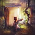 Le livre magique by Laura-Graph