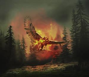 L oiseau by Anita-Creations