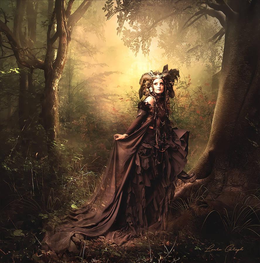 La reine des bois by Anita-Creations