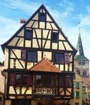 Stock Laura Turckheim/Alsace/France