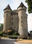 Stock Laura Graph chateau de la Batisse/France