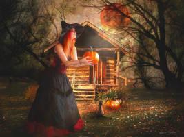 Joyeux Halloween by Laura-Graph
