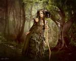 Dans les bois by Laura-Graph