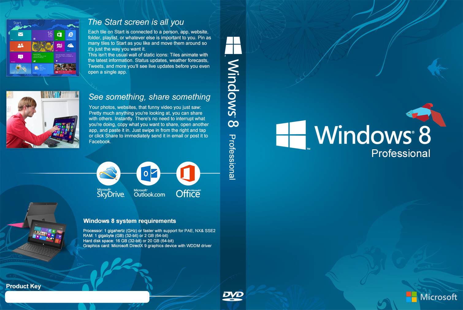 Windows 8 1 DVD Cover