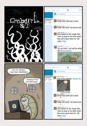 Crabgirl and I 107: Tweet