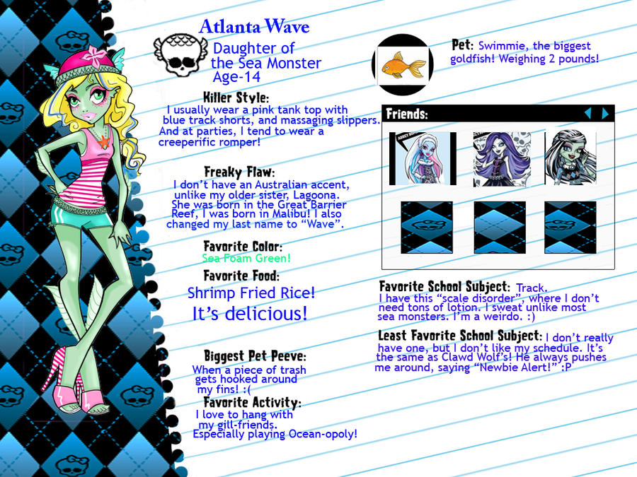 Atlanta Wave Home Page by ladygagaluvR