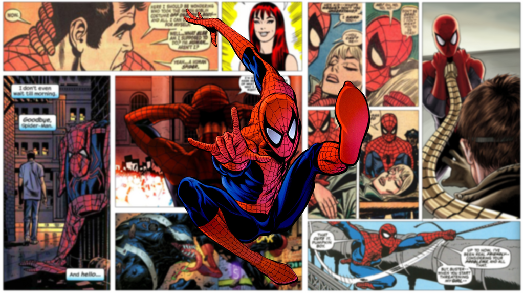 Spiderman Comic Wallpaper by Maestro221 on DeviantArt