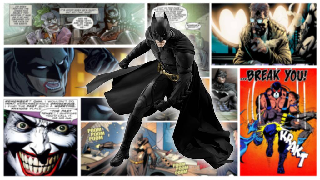 Batman Comic Wallpaper By Maestro221
